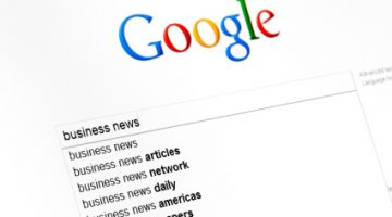 google in prima pagina