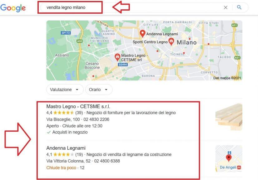 Farsi trovare su Google Maps