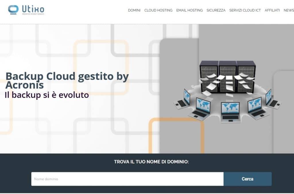 Home page Utixo
