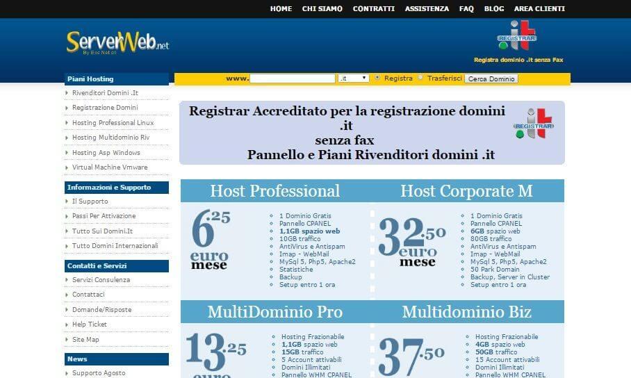 Serverweb