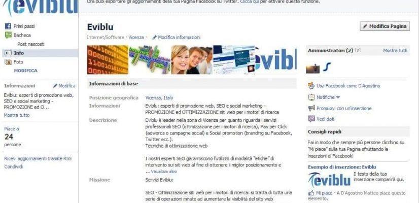 aumentare le visite al sito web con facebook
