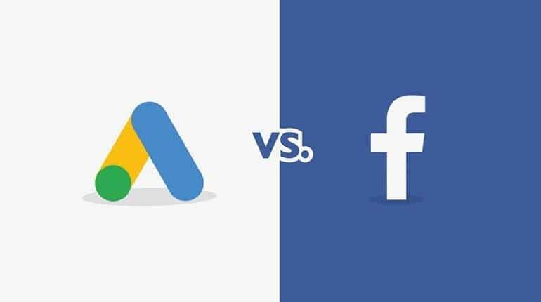 campagne web marketing: meglio Google o Facebook?