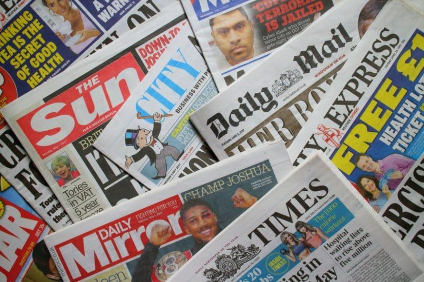 Pubblicità su giornali e quotidiani