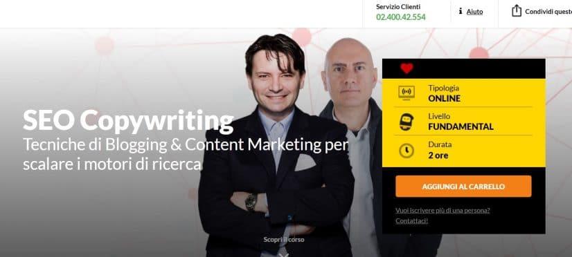Corso copywriting SEO Ninja Marketing