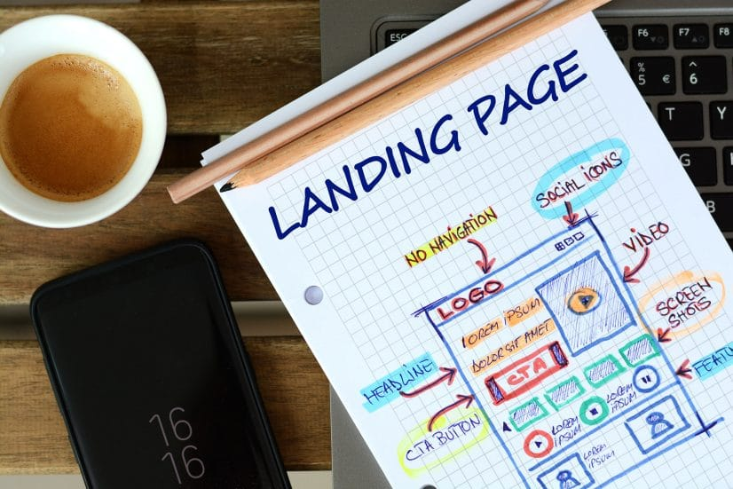 Landng page