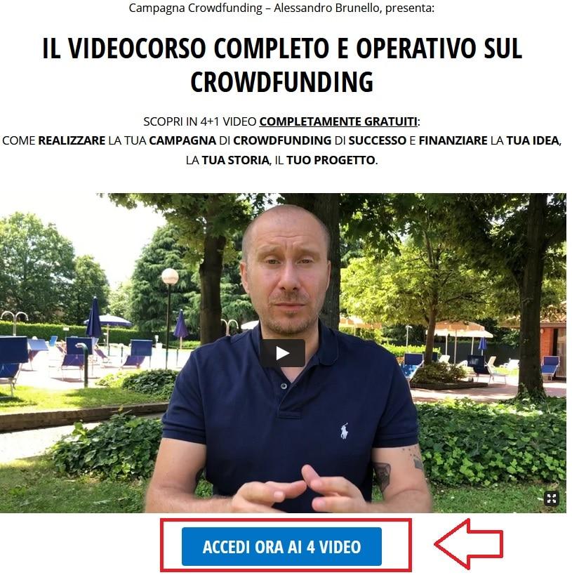 Videocorso Alessandro Brunello lead generation